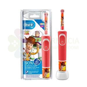 El Cepillo Eléctrico Oral-B Kids para niños mayores de 3 años combina la diversión de Toy Story de Disney Pixar con la limpieza suave y eficaz de un cepillo Oral-B recomendado por dentistas
