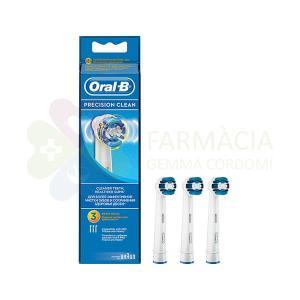 3 RECAMBIOS CEPILLO ORAL-B PRECISION CLEAN